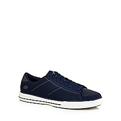 Skechers - Navy 'Arcade Vontae' lace up trainers