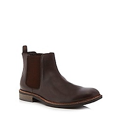 Lotus Since 1759 - Dark brown leather 'Blakesley' Chelsea boots