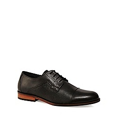 Lotus Since 1759 - Black leather 'Thorpe' Derby shoes