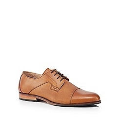 Lotus Since 1759 - Tan leather 'Thorpe' Derby shoes