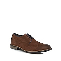 Lotus Since 1759 - Brown suede 'Willington' brogues