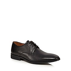 Clarks - Black leather 'Gilman Mode' Derby shoes