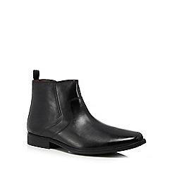 Clarks - Black leather 'Tilden' boots