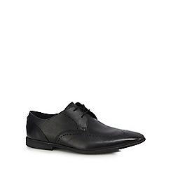 Clarks - Black leather 'Bampton Limit' derby shoes