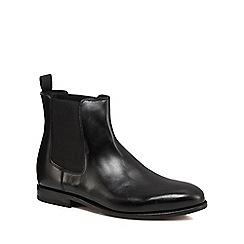 Clarks - Black leather 'Ellis Franklin' Chelsea boots
