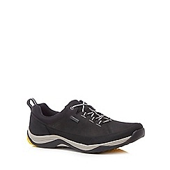 Clarks - Black 'Baystone Run Gorete' trainers
