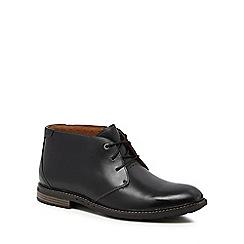 Clarks - Black 'Unelott' chukka boots