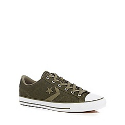 Converse - Khaki 'Star Player' trainers