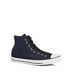 Converse - Navy high tops