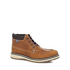 Chatham Marine - Tan leather 'Barrett' chukka boots
