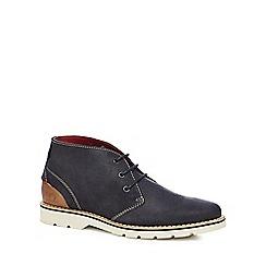 Chatham Marine - Navy leather 'Ellis' chukka boots