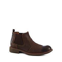 Chatham Marine - Brown leather 'Logan' Chelsea boots