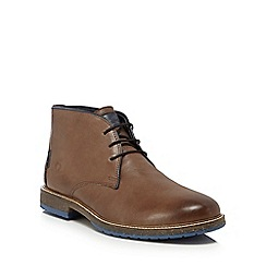 Chatham Marine - Brown leather 'Perry' chukka boots