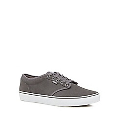 Vans - Grey suede 'Atwood' trainers
