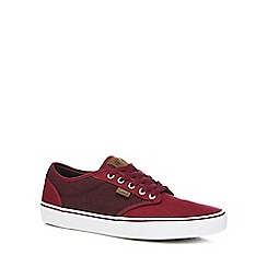 Vans - Plum 'Atwood' lace up trainers