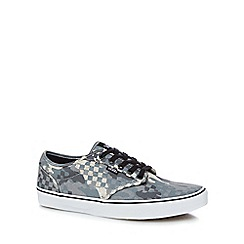 Vans - Grey 'Atwood' camouflage print trainers