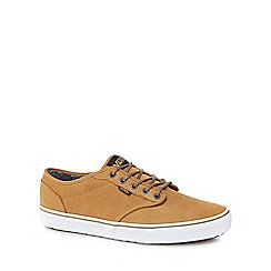 Vans - Mustard yellow suede 'Atwood' trainers
