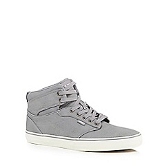 Vans - Grey 'Atwood' high top trainers