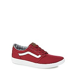 Vans - Wine red canvas 'Chapman Lite' trainers