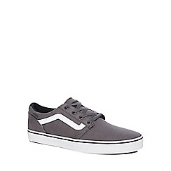 Vans - Grey 'Chapman' lace up trainers