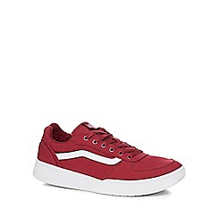 Vans - Wine red 'Knoll' trainers