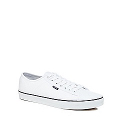 Vans - White 'Ferris' lace up trainers