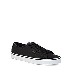 Vans - Black 'Ferris' lace up trainers