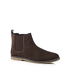 Original Penguin - Brown suede 'Lesta' Chelsea boots