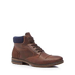 Rieker - Brown lace up boots