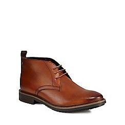Base London - Tan leather 'Cavill' chukka boots