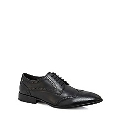 Base London - Black leather 'Larsson' brogues