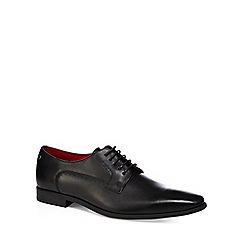 Base London - Black leather 'Penny' Derby shoes