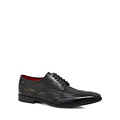 Base London - Black leather 'Crown' brogues