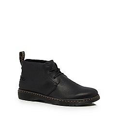 Dr Martens - Black leather 'Ember' desert boots