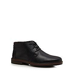 Rieker - Black leather desert boots