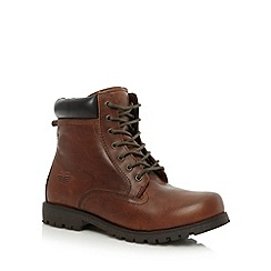 Red Tape - Tan 'Marsland' hi top work boots