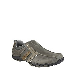 Skechers - Charcoal diameter heisman slip on shoe