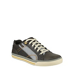 Skechers - Charcoal diamondback tevor relaxed lace up shoe