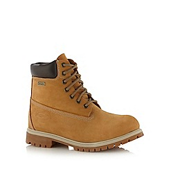 Skechers - Tan suede waterproof boots