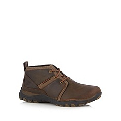 Skechers - Dark brown 'Artifact-Lutador' shoes