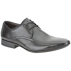Clarks - Glint Up Black Leather Smart Lace Up Shoe