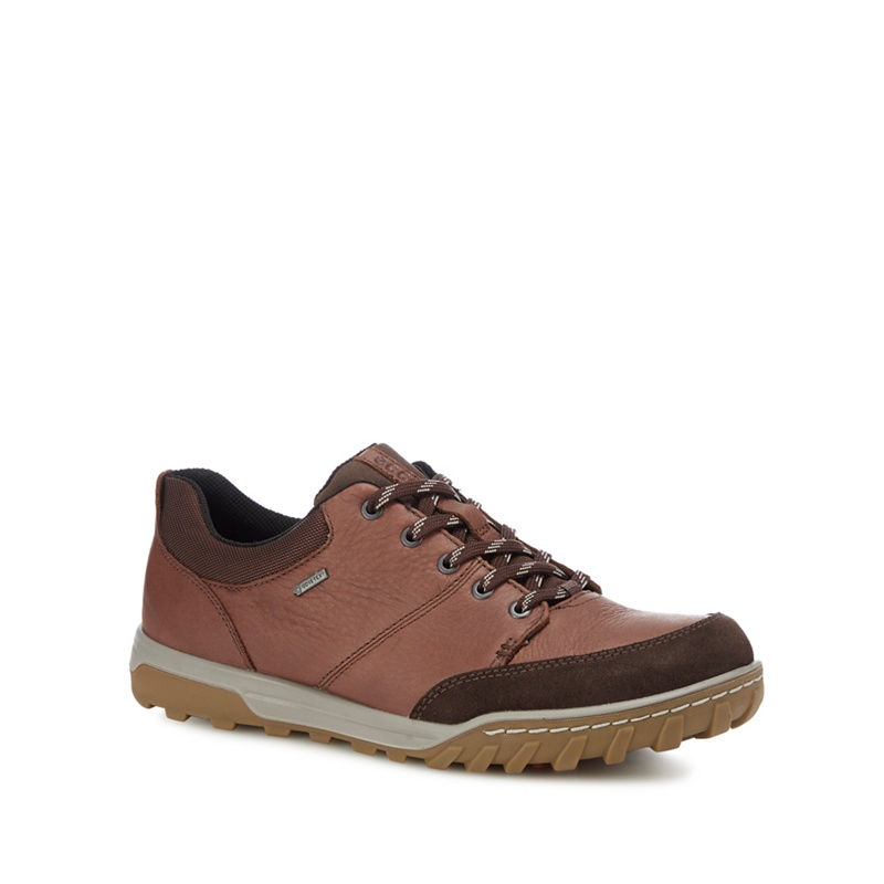 ECCO - Brown 'Urban Lifestyle' Lace Up Shoes