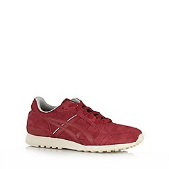 Onitsuka Tiger - Red lace up trainers