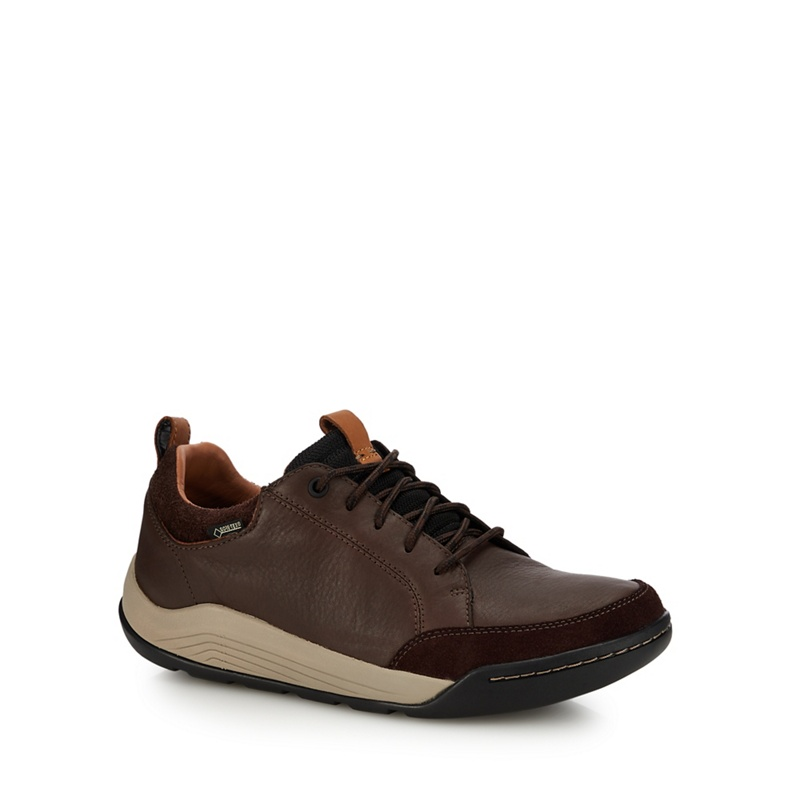 c7d5a5748a Mens Clarks Dark brown 'Ashcombe Bay' trainers, Men's | £100.00 ...