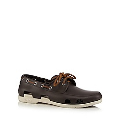 Crocs - Brown boat shoes