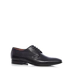 J by Jasper Conran - Designer black leather pointed toe shoes
