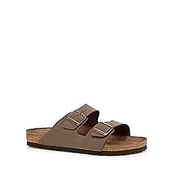 Birkenstock - Chocolate 'Arizona' sandals