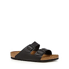 Birkenstock - Black 'Arizona' sandals