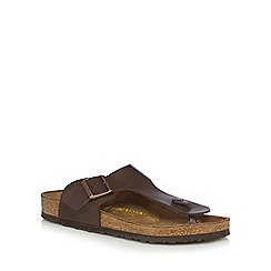 Birkenstock - Dark brown 'Ramses' sandals