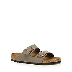 Birkenstock - Taupe 'Arizona' sandals
